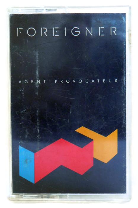 Foreigner Agent Provocateur Cassette Tape