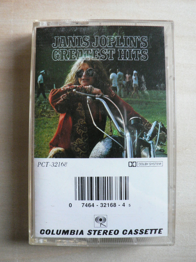 Janis Joplin Greatest Hits Cassette Tape