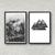 Set Of 2 Prints, Abstract Print, Printable Art, Geometric Art, Scandinavian