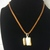 #078 Smores Necklace and Earring Set
