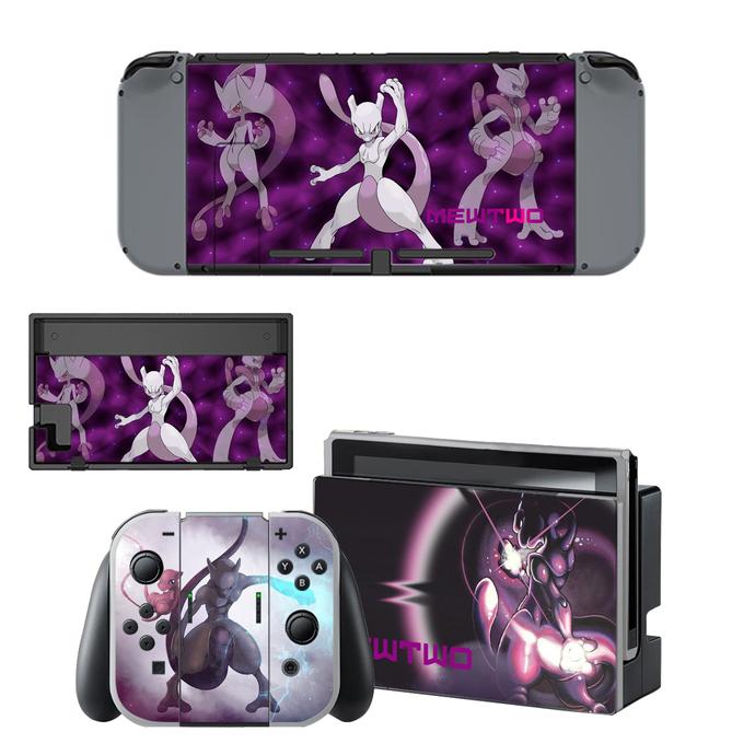 Pokemon go Mewtwo Nintendo switch skin for Nintendo switch console