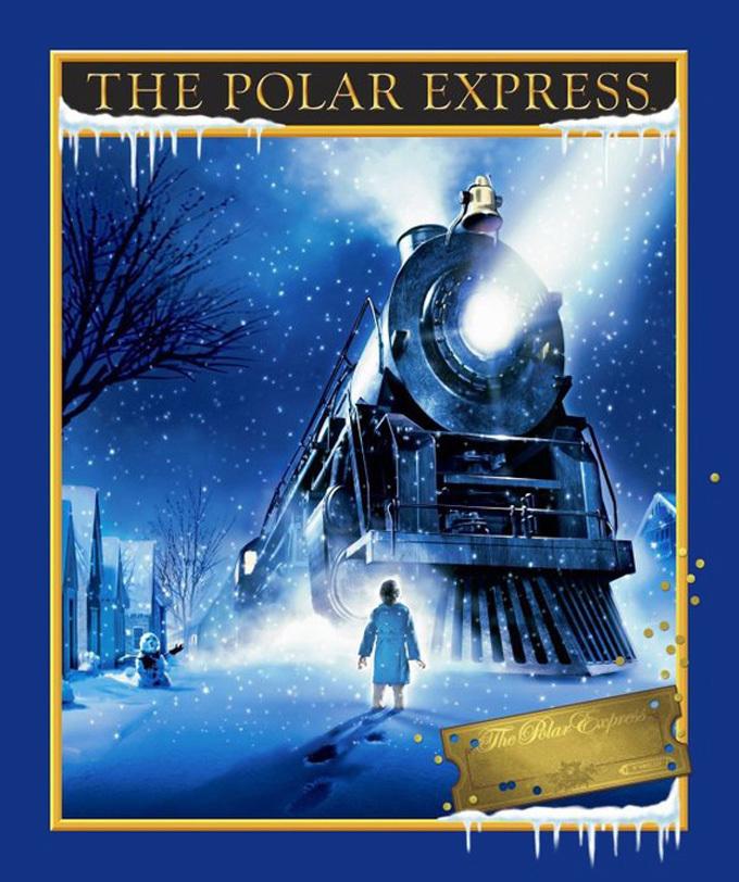Polar Express Cross Stitch Pattern***LOOK*** ***INSTANT DOWNLOAD***