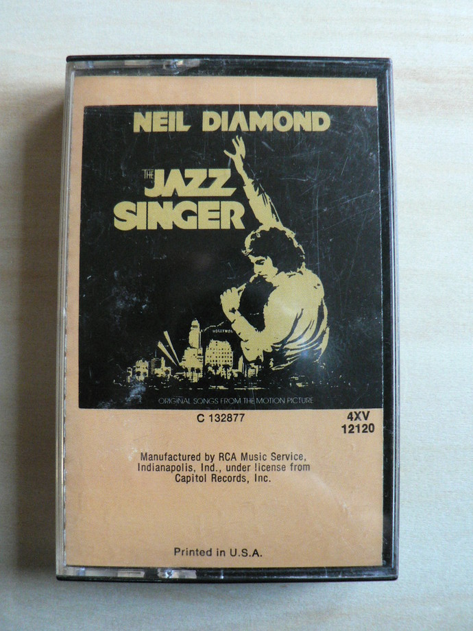 Neil Diamond The Jazz Singer Cassette Tape