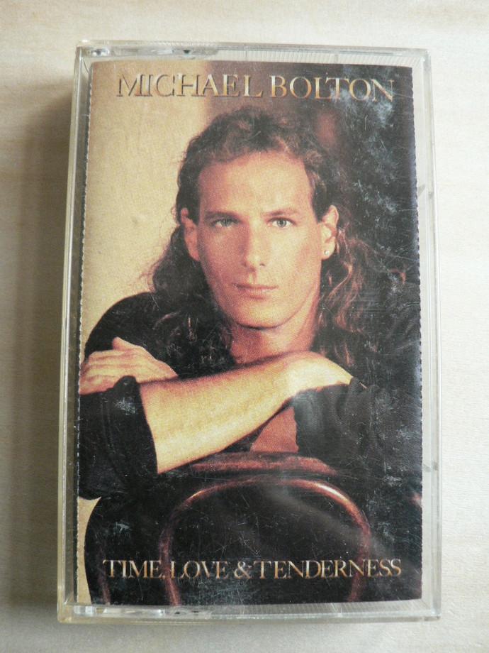Michael Bolton Time Love & Tenderness Cassette Tape