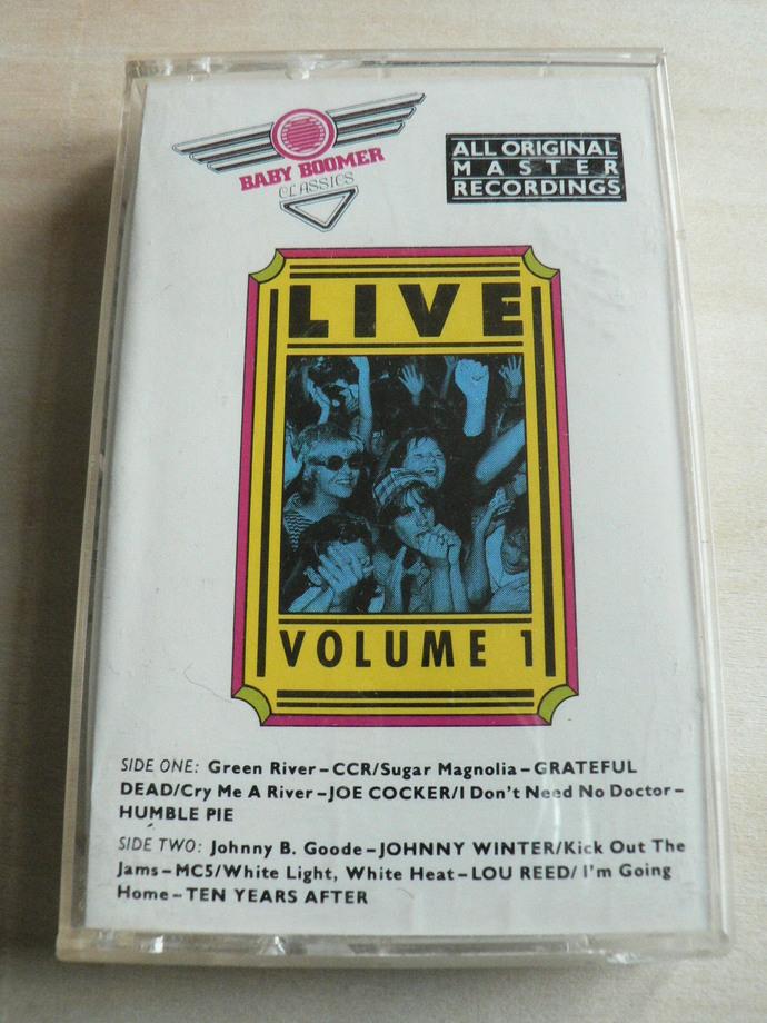 Baby Boomer Classics Cassette Tape