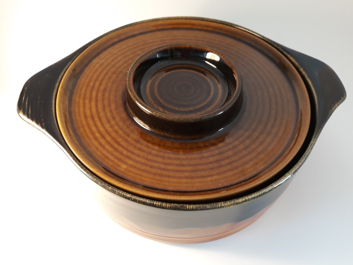 Old Dublin Casserole with lid.