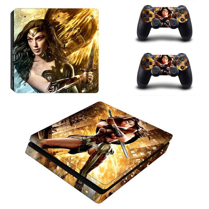 Wonder Woman PS4 slim Skin