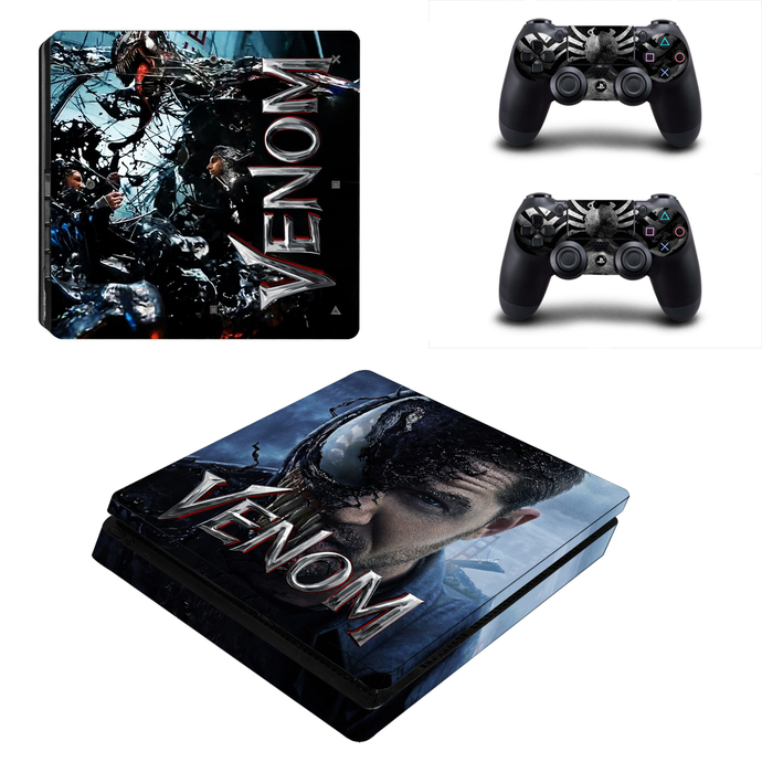Venom PS4 slim Skin for PlayStation 4 slim Console & Controllers