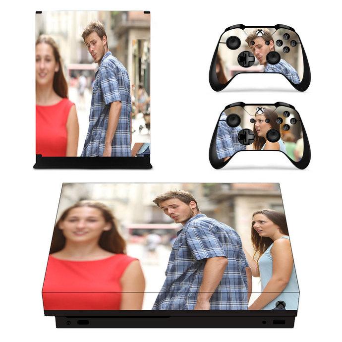 Reaction Guys Xbox one X Skin
