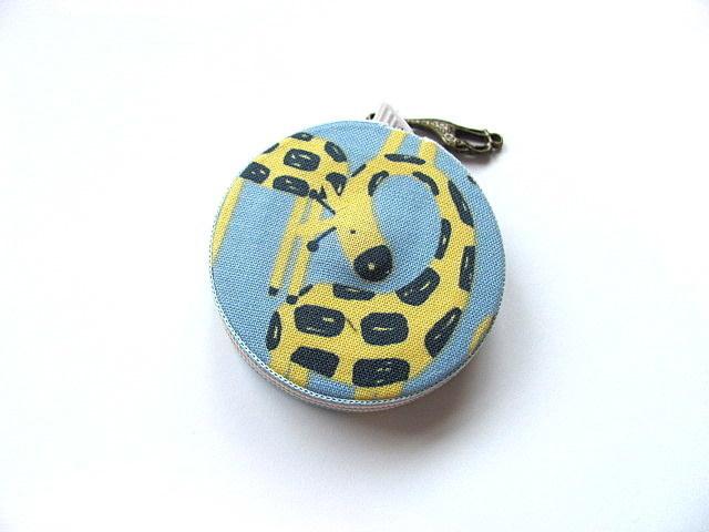 Tape Measure Yellow Giraffes Small Retractable Tape Measure