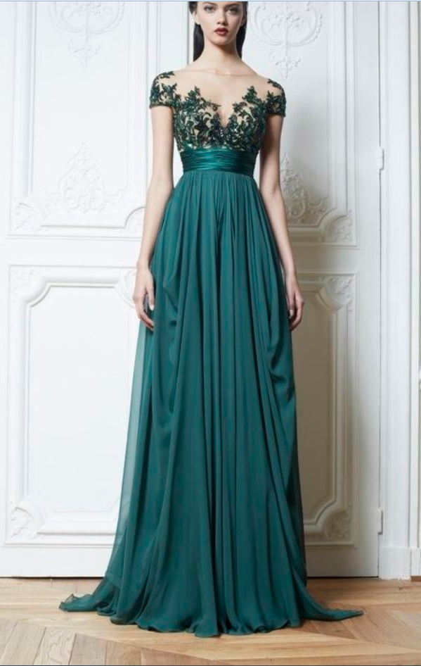 Vintage Style Evening Dresses