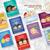 Disney Tsum Tsum Printable Single Sided Valentine's Day Cards: Digital File