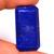 Natural Lapis Lazuli Faceted Semi Precious Loose Gemstone Rectangular stones