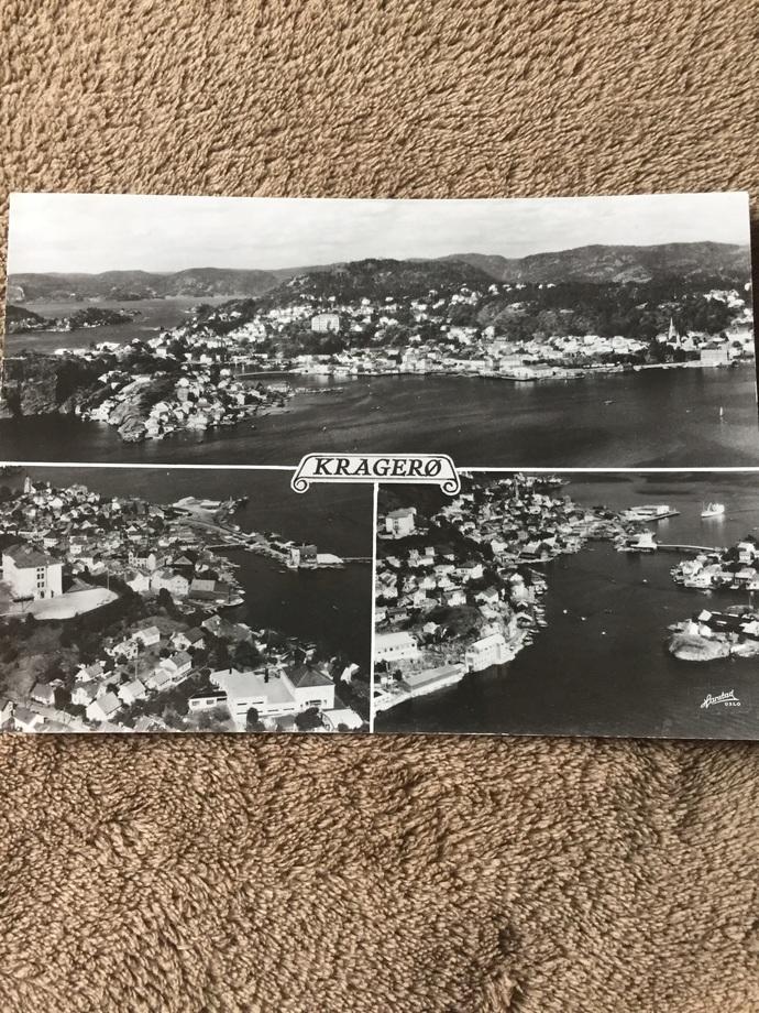 Vintage Postcard of Norway