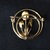 Vintage pin brooch Cameo style
