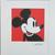 Andy WARHOL Mickey Mouse lithograph signed numbered edition 1034/5000