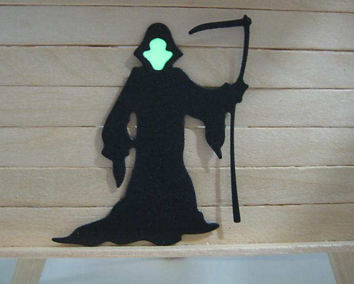 Grim Reaper Halloween Metal Cutting Die
