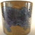 Marei flower pot. Rare colors: mustard, blue and purple snakeskin