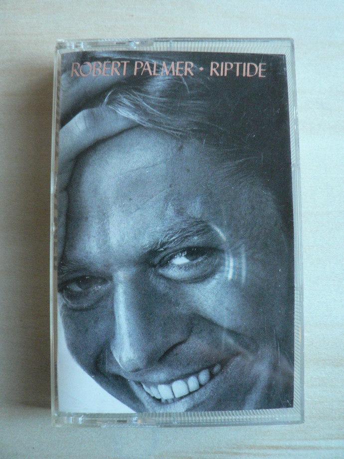 Robert Palmer Riptide Cassette Tape