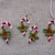 FSL jewelry Candy Cane earrings, pendant, motive Free Standing Lace Machine
