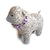 Stuffed Toy Animal. Lamb Nursery Decor. Baby Shower Gift