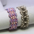Beading Tutorials - Parinee Bracelet, Beadweaving Patterns, Superduo Tutorials,