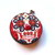 Measuring Tape Red Flowers Skulls Small Retractable Tape Measure