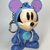 Disney Mickey Mouse as Stitch Bag Charm Keychain Key Ring - New Unused