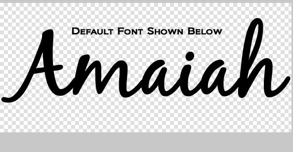 Vinyl Name Decal - D.I.Y Name Decal / Name Sticker / Personalized