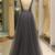 Modest Tulle V-neck Neckline Floor-length A-Line Evening Dress With Beadings