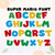 Super Mario Font Cut files, Mario alphabet Svg, Mario Bros Font Cut files: Svg,