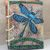 Dragonfly Flight Journal - refillable blank book - 4x5