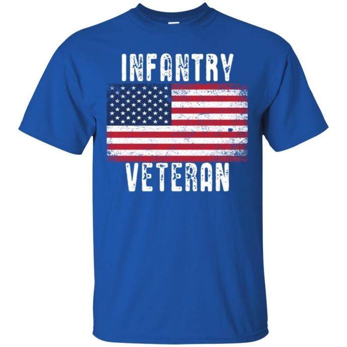 Infantry Veteran Men T-shirt, Infantry Veteran Tee
