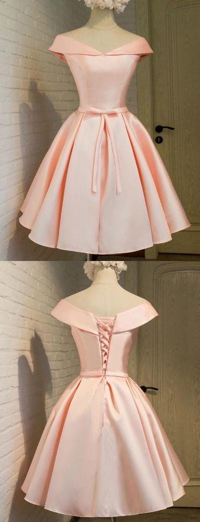 45e245bb55 Satin Homecoming Dresses