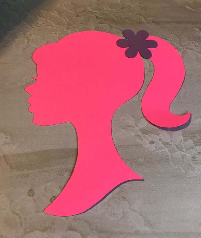 Barbie Silhouette Cut Outs / Die Cut / Many Colors / Many Sizes