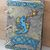 Blue Dragon Journal - refillable blank book - sketchbook - scrapbook - 4x6