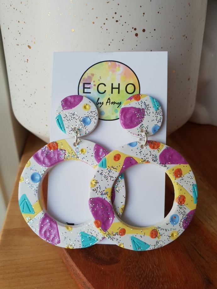 Glitter Pastel Party - mega circles