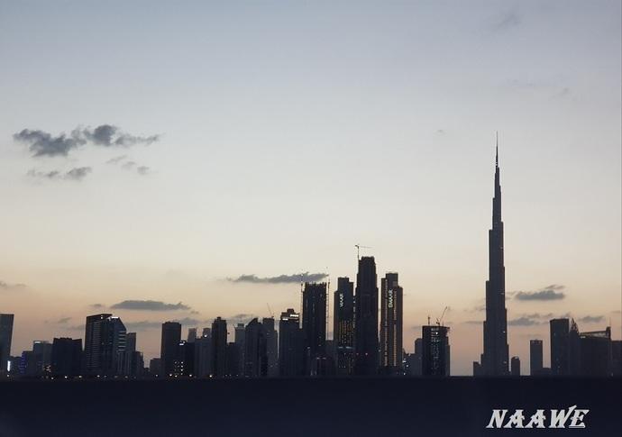 My World - The Burj in Silhouette
