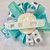Snowmen, Blue, Silver And White, Loopy Hair Bow, New, Gift