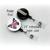 Scrub Life - Nursing - Pinback Button Magnet Keychain Flatback Badge Reel 1.5