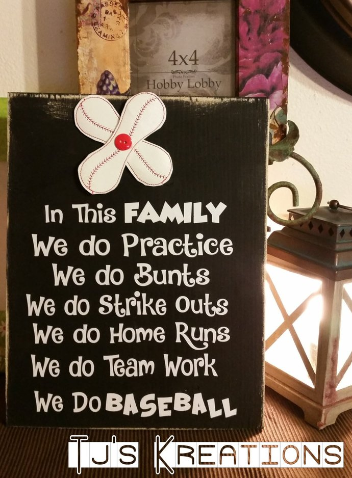 How cute ...in this family we do baseball