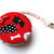 Measuring Tape Dogs on Red Retractable Fabric Pocket Tape Measure