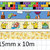1 Roll of Limited Edition Video Game Washi Tape (Pick 1): Tetris, Mario Bros,