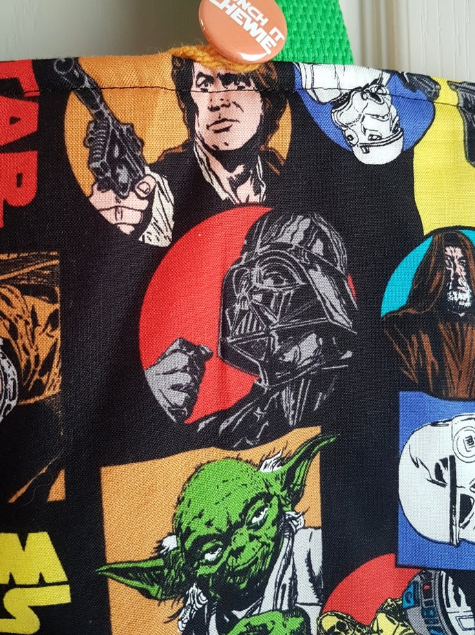 Retro Star Wars Tote Bag