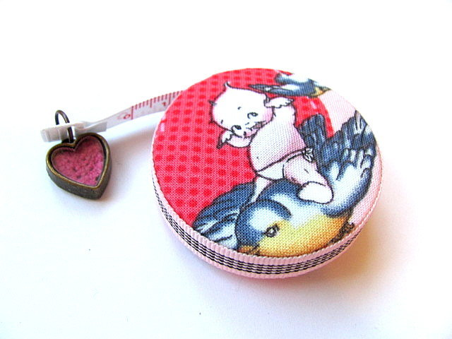 Tape Measure Kewpie Dolls Retractable Measuring Tape