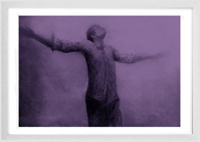 Instant download, contemporary art, figure painting, dreamy digital image,