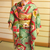 Doll kimono green Furisode kimono set for Silkstone Barbie dolls and similar