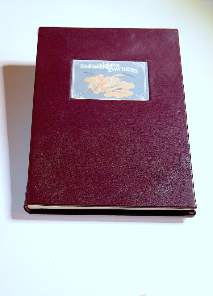 Handbound Leather Address Book