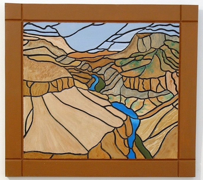 Grand Canyon, Wood Wall Sculpture, Unique Wood Wall Art