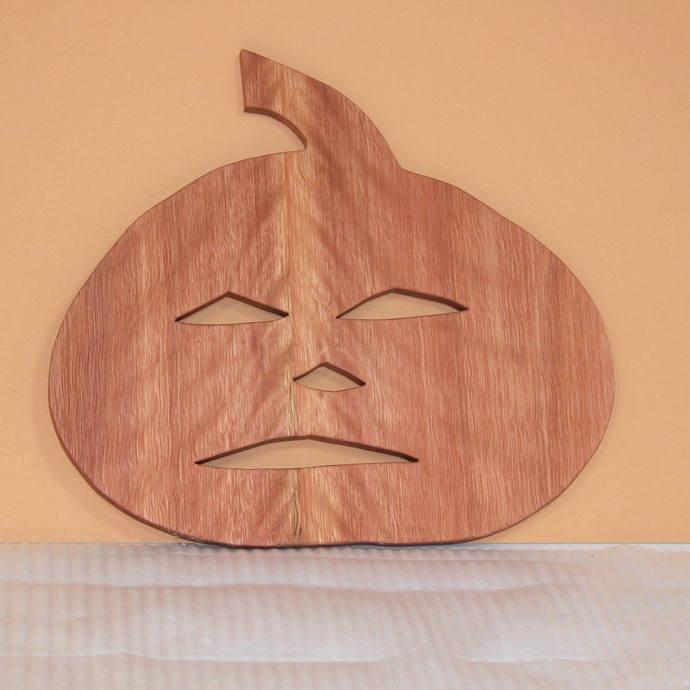 Trivet - Pumpkin Shaped -  Kitchen Decor  Jack O Lantern - Free Shipping